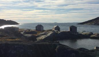 Fishing shacks in Indian Harbour